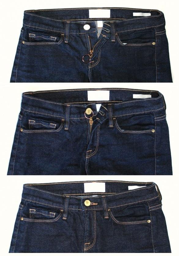 Как обрезать джинсы Как подшить джинсы с сохранением 97