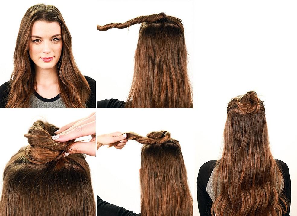 картинки прически с распущенными волосами