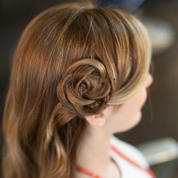 как сделать цветок из волос пошаговая инструкция фото - фото 4