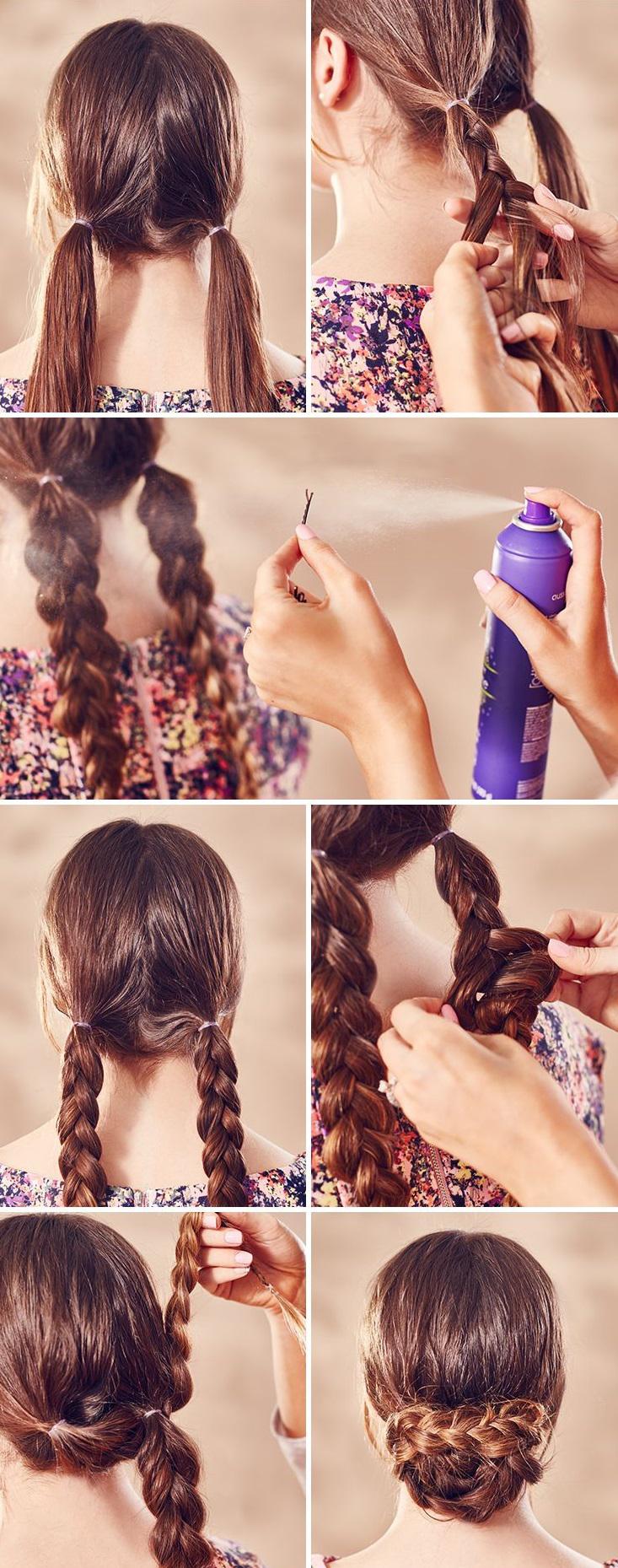 Как заплести волосы своими руками