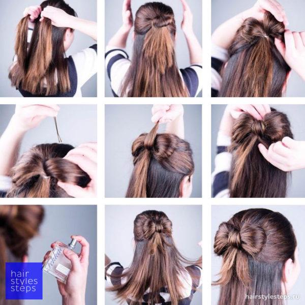 Причёски на 1 сентября на длинные волосы: фото-новинки изоражения