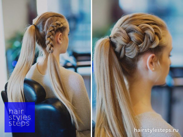 Идеи для прически с косами