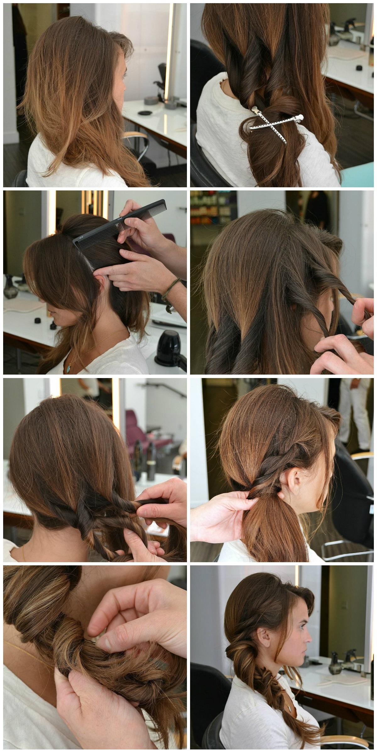 Как сделать одну объемную косу 165